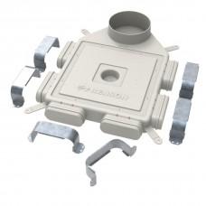 Easyflex D160 вертикальный 6-140x60 распределительная коробка на 6 овальных каналов 140х60 мм. (арт. 801106)