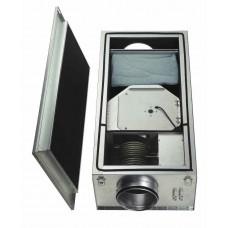 ALB 200 B EH5 Вентиляционный бокс с электрич. подогревом, воздушным фильтром и звукопоглотителем, 400 В, 3~ (арт. 2702)