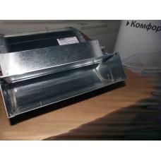 Helios FK-BV 200/45 Колено плоскоканальной системы, вертикальное 200 x 50 мм, 45° оцинкованная листовая сталь (арт. 2918)