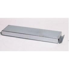 Helios FK-ED 200 Крышка плоскоканальной системы 200 x 50 мм, оцинкованная листовая сталь (арт. 2944)