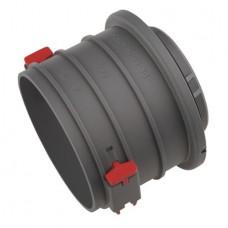 Helios FRS-ES 75 Отдельный патрубок FlexPipe круглый 75 с байонетным соединением для деталей из листового металла (арт. 3852)
