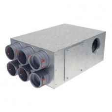 Helios FRS-KVK 6- 75/125 R/L Комбинированная распределительная коробка (арт. 3874)