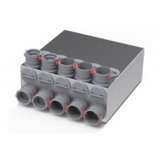 Helios FRS-VK 10-75/160 Распределительная коробка FlexPipe 10 патрубков (арт. 3847)