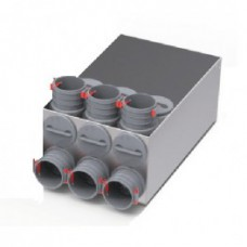 Helios FRS-VK 6-75/125 Распределительный коллектор подключение до 6 воздуховодов FRS-R 75 (арт. 3846)