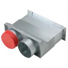 Helios FRS-WDS 2-75 Комплект FlexPipe для вывода сквозь стену 2 x 75 мм (арт. 9994)