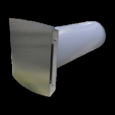 KWL 45 RSF Комплект корпуса фасада с гильзой для стены и заглушкой из нержавеющей стали. Заглушка внутренняя и внешняя (арт. 3005)