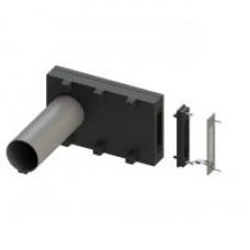 KWL 45 RSL Комплект корпуса для монтажа Laibung с гильзой и решеткой для стены. Заглушка внутренняя и внешняя (арт. 3009)