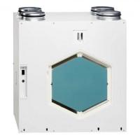 KWL EC 270 W ET R/L. Вентиляционная установка, правостороннее или левостороннее исполнение, с функц. рекуперации тепла, двигатели EC, энтальпийный теплообменник, автоматический байпас и Web-сервер (арт. R - 4229/ L - 4231)