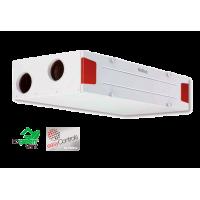 KWL EC 340D R/L. Потолочная установка KWL с функц. рекуперации тепла, правостороннее или левостороннее исполнение, двигатели EC, автоматический байпас и Web-сервер (арт. R - 4237 \ L - 4238 )