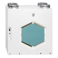 KWL EC 370W R/L. Вентиляционная установка, правостороннее или левостороннее исполнение, с функц. рекуперации тепла двигатели EC автоматический байпас и Web-сервер (арт. R - 4245/ L - 4247)