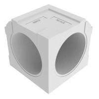 Helios Renopipe RP - IW внутренний угол 90° с гладким профилем уп. 4 шт. (арт. 3075)