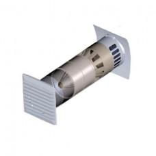 KPV Marley Стеновой приточный клапан с защитой от пыльцы и пыли.