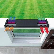 Endura Twist 2x2 децентрализованная вентиляционная установка.