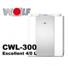 CWL-300 Exellent  (подключение 4/0 L) Приточно-вытяжная установка с рекуперацией (арт. 2137990)